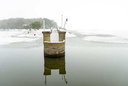 lagoon: Pier In Lagoon