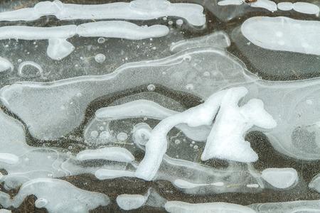bogs: frozen bogs