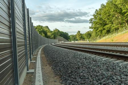 railroad tracks: railroad tracks
