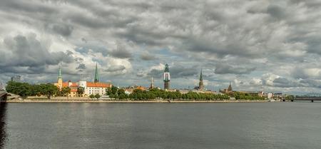 panama city beach: Riga cityscape