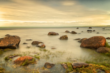 long exposure: Baltic see Stock Photo