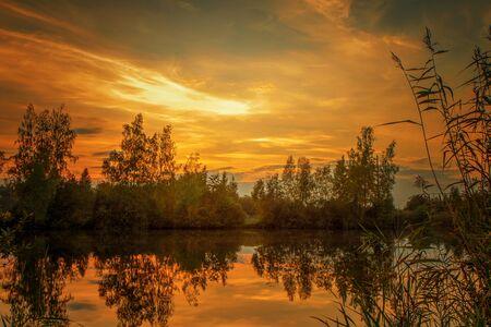 evening: The beautiful summer evening