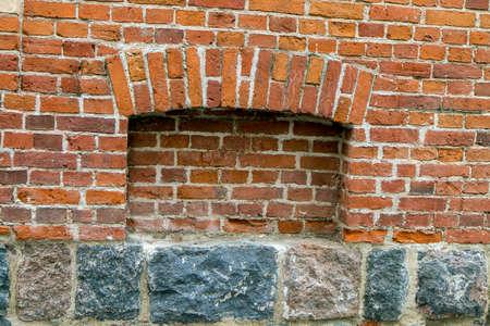 niche: niche in the wall