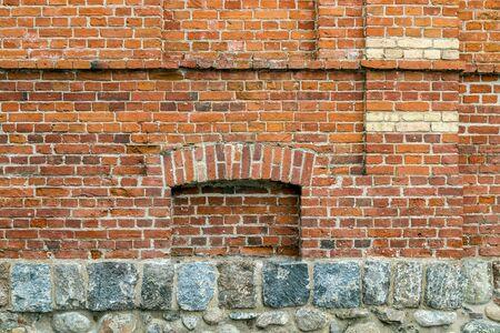 niche: one niche in the wall