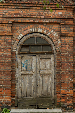 old door: old door