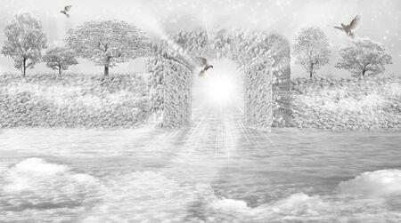 mystique: Heavenly paradise.