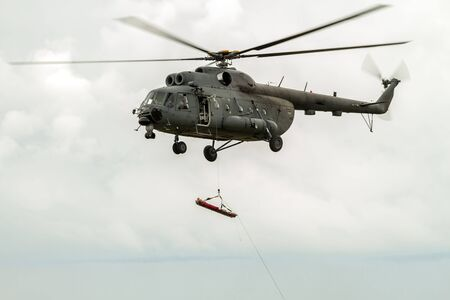 helicopter rescue: Helicopter rescue  peoples