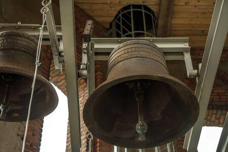 church bell: Old church bell tower