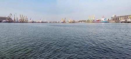 Black Sea port near Bourgas