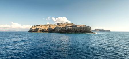 Mediterranean islands in suumer Stock Photo