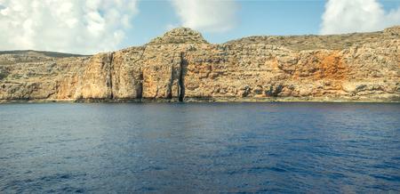 Island in sea panorama