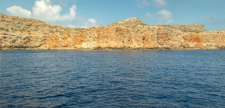 Greek islands near the Crete