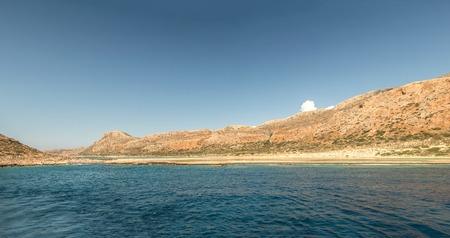 Mediterranean near the island Standard-Bild - 115633182