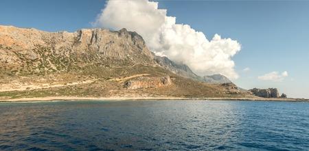 Mediterranean near the island panorama