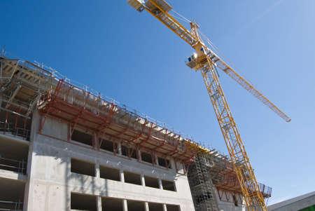 Construction site 1 Banque d'images - 4539726