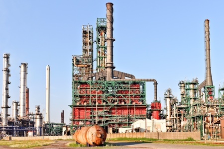 oil and chemical refinery Stock Photo - 14026677