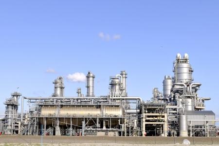 industria quimica: aceite y productos químicos refinería