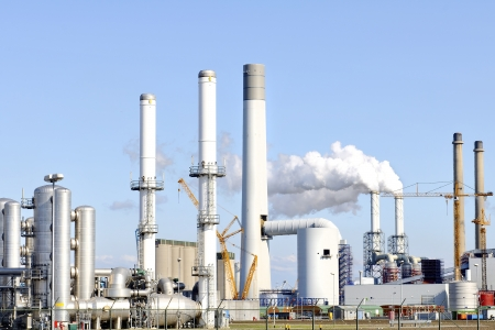 oil and chemical refinery Stock Photo - 14026554
