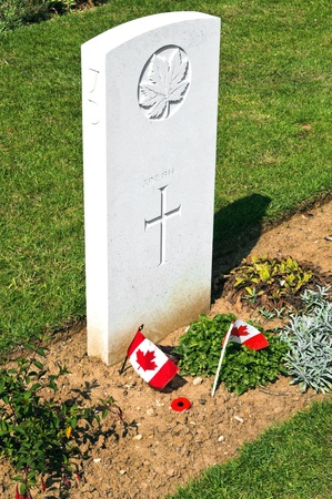 Canadian world war 2 cementery in Normandy France