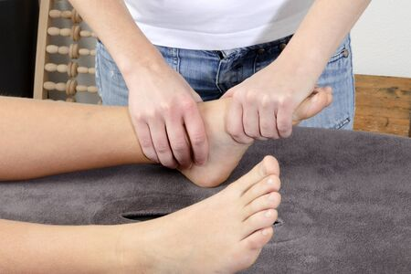 physiotherapy treatment Stock Photo - 14112813