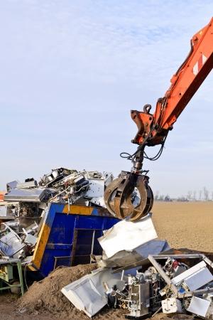 recycling  metal  photo
