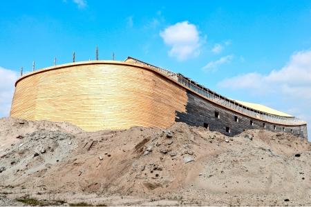 dordrecht: arc of Noah in real size is build in dordrecht Netherlands