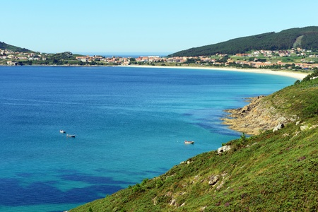 bay of fisterra galicia spain