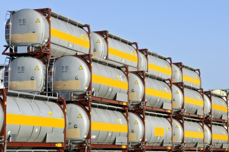 chemical transport container  Stock Photo