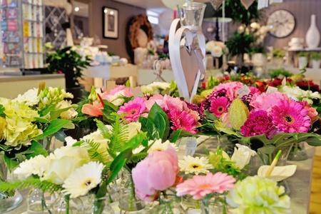 florist shop with flowers