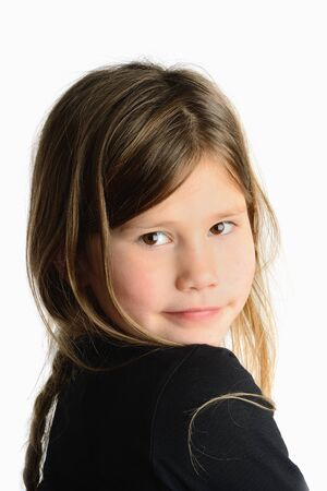 beautiful portret of a little girl Stock Photo - 16824121