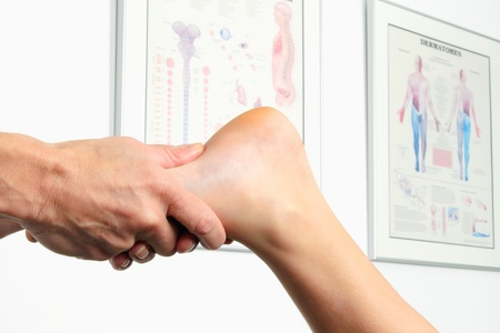 physiotherapy of the feet