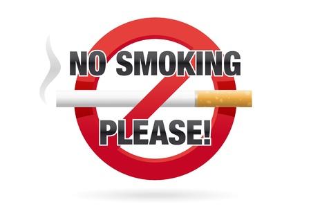 No Smoking Please Ilustrace