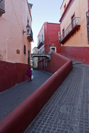 Guanajuato street 版權商用圖片