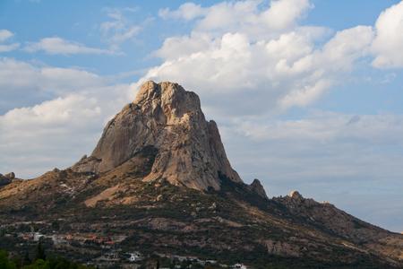 Bernal Monolith, Queretaro Banco de Imagens