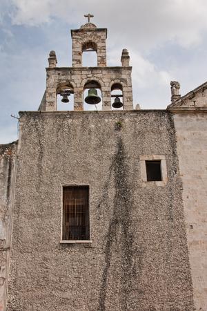 Improved church in Merida Mexico Stock Photo