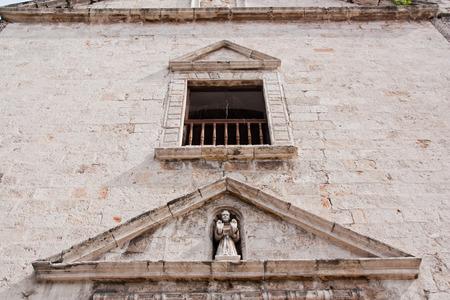 Improved church in Merida Yucatan, detail Stock Photo