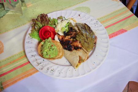 Authentic mexican quesadillas