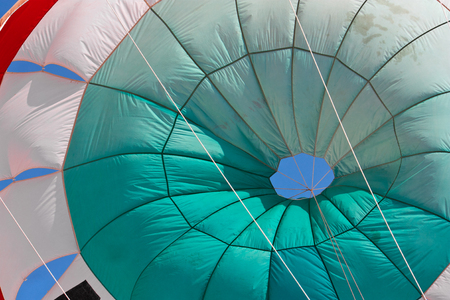 Parachute detail in Ixtapa Mexico