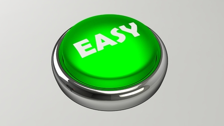 The button to get immediate results. Parody of getting your results as fast as possible. Stock fotó