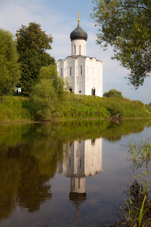 nerl river: Church of the Intercession on the Nerl river