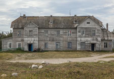 barrack: Barrack in Solovetsky Island, Arkhangelsk region, Russia