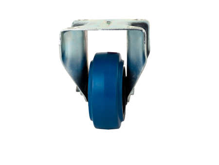 rubber wheel with polyamide center in the fixed metal bracket