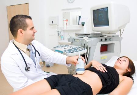 ultrasonic: Medical ultrasonic scan