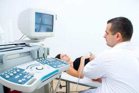 Medical ultrasonic scan photo