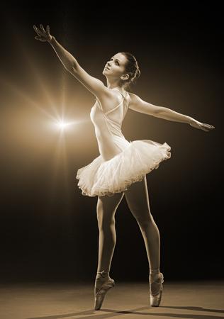 bailarina de ballet: Bailarina de ballet Foto de archivo