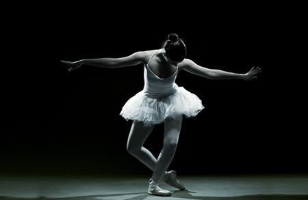 Ballet dancer-action photo