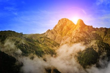 Beautiful mountains in Austria