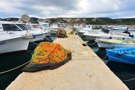 Port on the Croatian coast