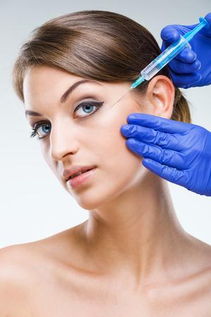 Plastic surgery - Beautiful woman photo
