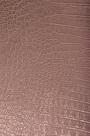 crocodile skin: Crocodile skin leather, bronze background